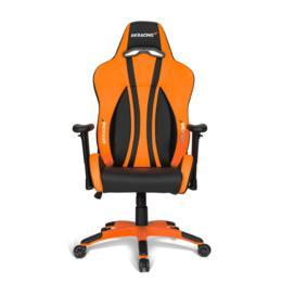 AKRacing Premium Plus gamestoel zwart/oranje