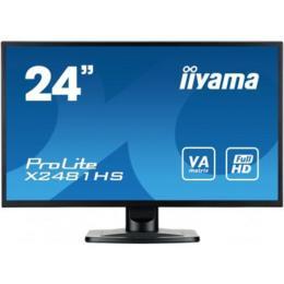"""23,6"""" iiyama X2481HS-B1 LED 6ms D-Sub/DVI/HDMI + Spks"""