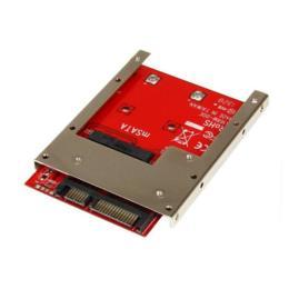"""StarTech SSD mSATA naar 2,5"""" SATA 6Gb/s 7mm Open Frame"""