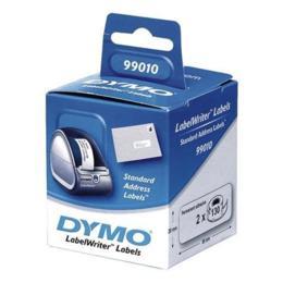 Dymo 99010 adresetiketten Smal 89x28mm 2 rollen