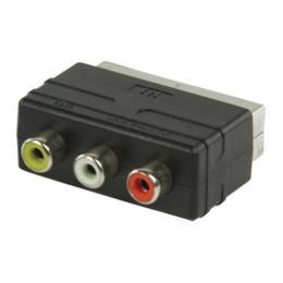 Valueline Scart naar 3x RCA adapter