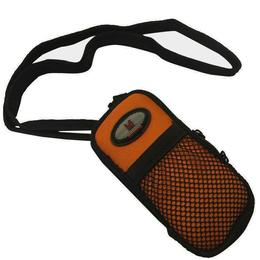 Black Machine MP3 sportarmband zwart/oranje