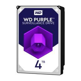 WD Purple 4TB Surveillance harde schijf WD40PURZ
