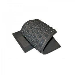 Logon Foldable AZERTY keyboard Zwart USB