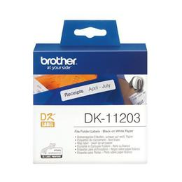 Brother DK-11203 Map label 17x87mm wit