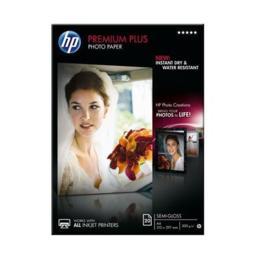 HP Premium Plus matglanzend fotopapier A4 20 vel 300gram