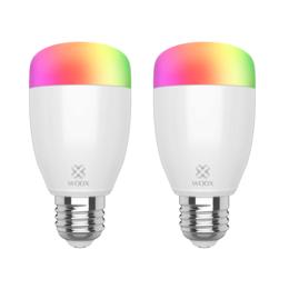 2-pack Woox Diamond Smart WiFi RGB LED E27 lamp