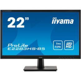 """21,5"""" iiyama E2283HS-B5 LED 1ms D-Sub/HDMI/DP + Spks"""