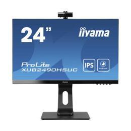 """23,8"""" iiyama XUB2490HSUC-B1 IPS Webcam/Microfoon/USB hub"""