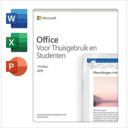 Microsoft Office 2019 Thuis & Studenten 1-PC (Download)