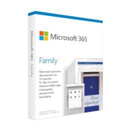 Microsoft 365 Family 6 gebruikers 1 jaar