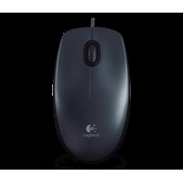 Logitech M90 optische muis USB zwart