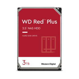 WD Red Plus 3TB NAS harde schijf WD30EFRX