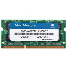 Corsair Mac geheugen 4GB DDR3-1066 CMSA4GX3M1A1066C7