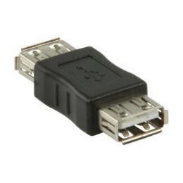 Nedis USB 2.0 A naar A koppelstuk/adapter F/F