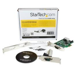 StarTech 2x Seriele Native RS232 LP PCI-E 1x PEX2S553LP