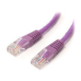 StarTech paarse UTP CAT5e patch kabel 1,8m bulk