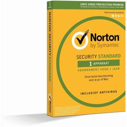 Norton Security Standaard 1-Device 1 jaar (Download)