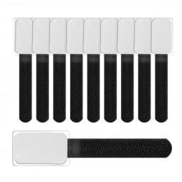 LTC kabelbinders mini met label 90x20mm 10 stuks zwart