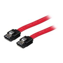 StarTech vergrendelbare SATA kabel 30cm rood