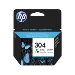 HP 304 drie-kleuren inktcartridge