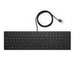 HP Pavilion wired USB toetsenbord AZERTY zwart