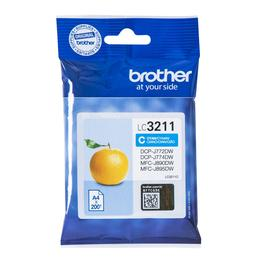 Brother LC-3211C cyaan inktcartridge
