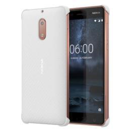 Nokia 6 Carbon Fibre design case wit