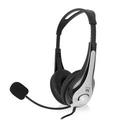 Ewent EW3562 Stereo koptelefoon met microfoon