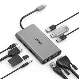 Acer 10-in-1 Type-C dongle multiport adapter