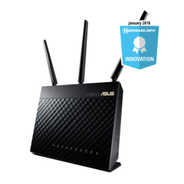 Asus RT-AC68U Wireless AC1900 Gbit dual-band router