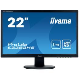 """21,5"""" iiyama E2282HS-B1 LED 1ms D-Sub/DVI/HDMI + Spks"""