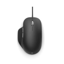 Microsoft Ergonomic USB muis zwart