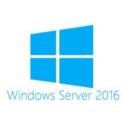 HPe Microsoft Windows Server 2016 (16-core) standard Add lic