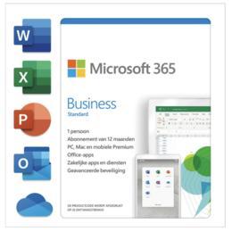 Microsoft 365 Business Standard 5-PC/MAC 1 jaar