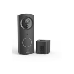 Woox R9061 Smart Video deurbel zwart incl. binnenbel