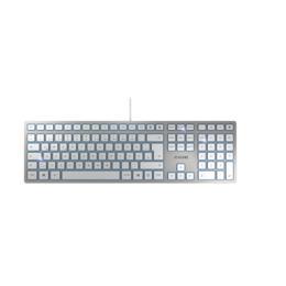 Cherry KC 6000 Slim toetsenbord zilver