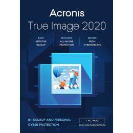 Acronis True Image 2020 voor 1-PC/MAC (Download)