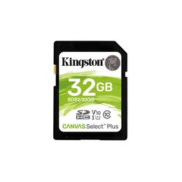 Kingston Canvas Select Plus SDXC 32GB SD kaart SDS2/32GB