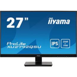 """27"""" iiyama XU2792QSU-B1 IPS 5ms DVI/HDMI/DP/USB Spks"""