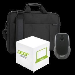 """Acer Gold garantie upgrade naar 3 jaar met 17"""" tas & muis"""