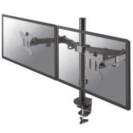 "Neomounts FPMA-D550DBLACK Dual monitor bureauklem tot 32"""