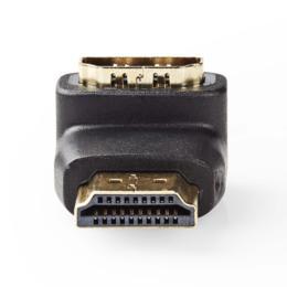 Nedis haakse 90° Gehoekte HDMI adapter