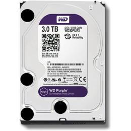WD Purple 3TB Surveillance harde schijf WD30PURZ