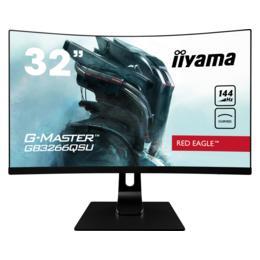 "32"" iiyama G-Master GB3266QSU-B1 Curved 1ms HDMI/DP spks"