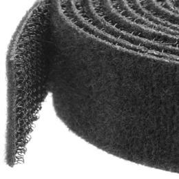 StarTech klitteband kabelbinder 7,5m rol zwart