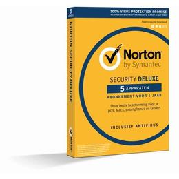 Norton Security Deluxe 3.0 NL 1-User / 5-PC 2016 DLC