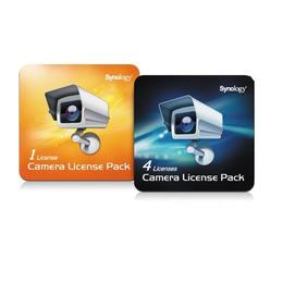 Synology camera license pack - 1 extra licentie