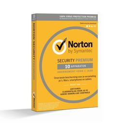 Norton Security Premium 3.0 NL 1-User / 10-PC + 25GB backup
