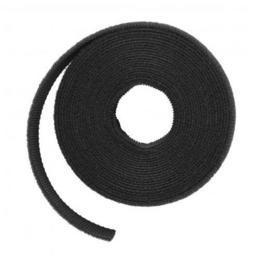 LTC kabelbinder klittenband op rol 16mm 3m zwart